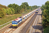 15th Sep 06: 59104 nears the bridge at Ruscombe with empties for the Somerset quarries