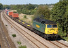 8th Sep 06:  57001 brings a fair load to Southampton from Wentloog (Cardiff)