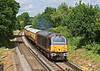19th Jun 08:  Royal skip 67006 leads the VSOE to Royal Ascot.  Captured here climbing away from Wokingham