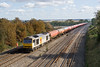 9th Oct 08:  Tug 60076 rumbles west with the Theale to Robeston Murco empties.