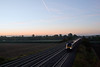 9th Oct 08:  20 minutes before the sun rose an HST races west towards Didcot