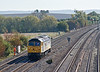 9th Oct 08:  Not expected was 'Joe Strummer' 47828 heading west