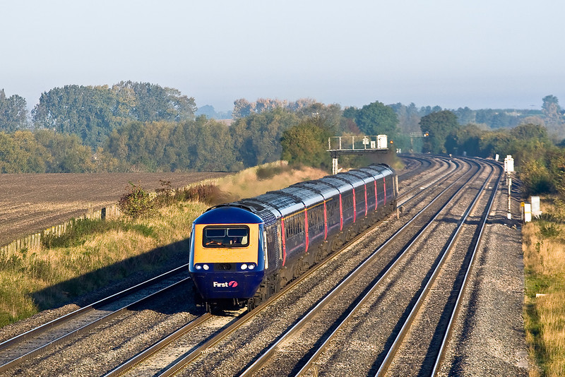 9th Oct 08: 43178 hammers up the main