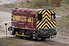 28th Apr 08: Resident Peak Forest shunter 08393.  Note the Buck Eye coupler