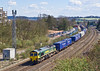 9th Apr 08:  With Stobart containers in the consist 66536 works 4M36 from Southampton to Ditton