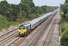 21st Aug 08:  66510 brings The Earles to Theale cement towards Ruscombe