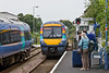 29th Aug 08:  170205 arrives at Saxmundham with the 13.02 from Ipswich (1D06)