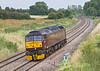 20th Aug 08: WCR class 47, 47245 runs to Westbury ready to haul the Cathedrals Express on to Exeter.  Captured here at Frouds Lane, Woolhampton