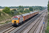26th Aug 08: Thunderbrd 57303 is tasked with hauling two Royal Mail 325s to Warrington