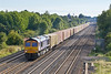 23rd Aug 08: 66724 brings the diverted 4M21 Felixtowe to Hams Hall liner away from Maidenhead. Captured here passing Breadcroft Lane