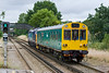 6th Aug 08;  450008 stands at Bagshot with 2N24 the 09.53 departure to Ascot