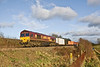 9th Dec 08: 66119 heads the 09.35 Washwood Heath to Eastleigh Intermodal