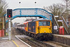 28th Feb 08:  The day's Wessex move of 442410 by 73204 from Eastleigh to Lovers Walk in Brighton captured here at Chertsey