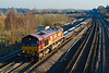 11th Feb 08: The afternoon Eastleigh to Hinksey departmental and 66015