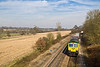 19th Feb 08: The Wentloog in the hands of 66590 rounds the curve
