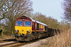 2nd Feb 08:  66189 and the Hinksey to Eastleigh Departmental