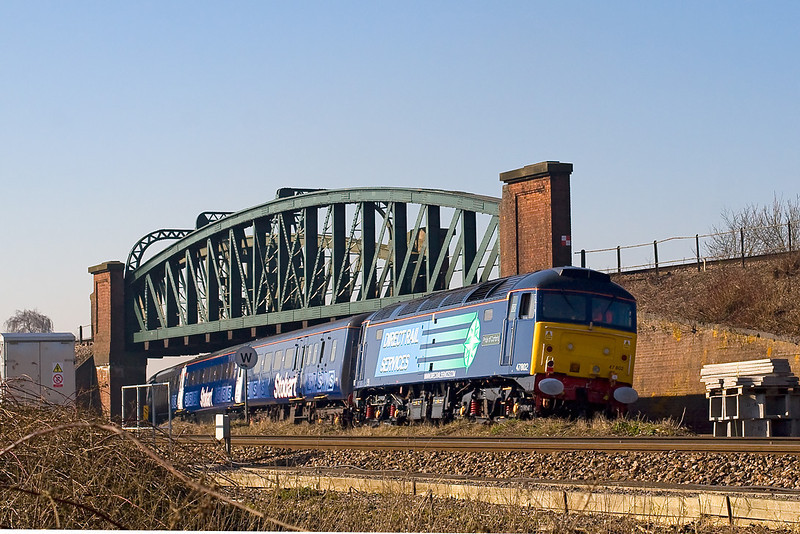 12th Feb 08:  In full DRS Compas livery 47802 'Pride of Cumbria' brings up the rear