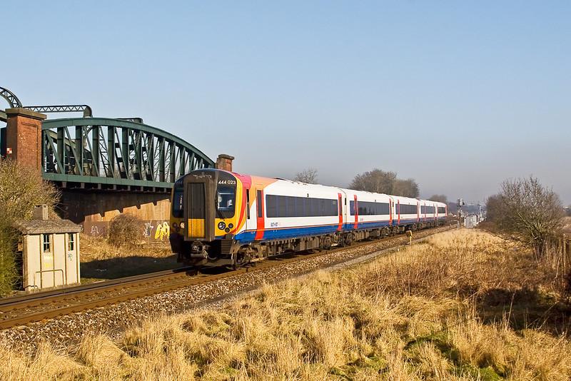 12th Feb: Southampton bound 444023