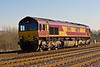 11th Feb 08:  With no Marchwood traffic 66078 runs back to Didcot LE
