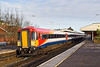 9th Jan 08:  44217 tails 410 on the afternoon test run. Seen here runing into Platform 4