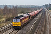 3rd Jan 08:  60093 in charge of 6B33 Theale to Robeston empty Oil tanks and running 15 minutes early