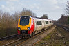 14th Jan 08:  Voyager 220002 with Cross Country side branding at Tilehurst