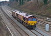 28th Jan 08:  Was it worth the effort as 66005 brings one van through Lower Purley.  The working is 6V38 Marchwood to Didcot MoD stores service