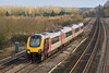 25th Jan 08: Now in some week winter sun 220017 heads to Manchester from Reading