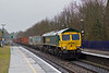 10th Jan 08:   66593 on the Up Relief enters Tilehurst. with 4O54. 06.13 from Leeds