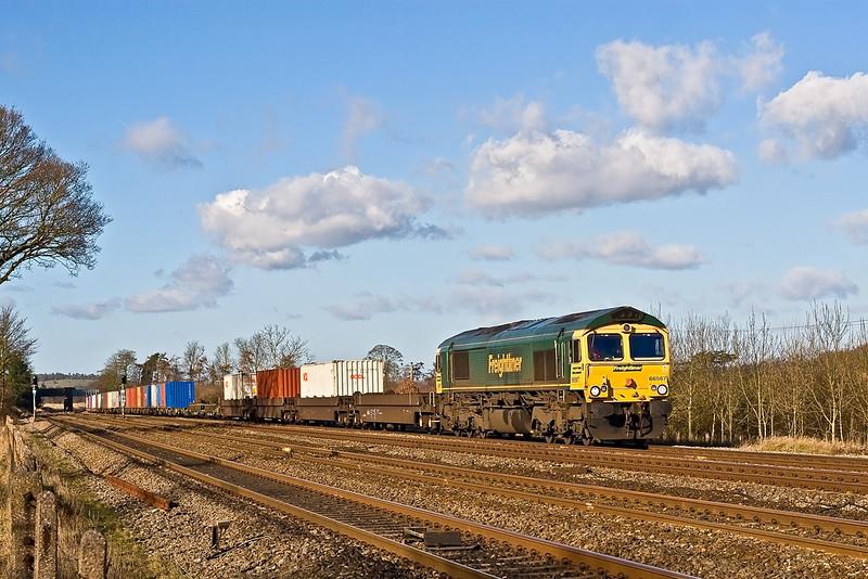 30th Jan 08:  66567 with the Wentloog to Southampton