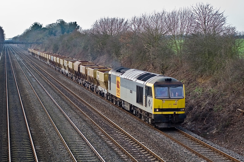 29th Jan 08:  6A47 from Appleford to West Drayton? powered by a very clean 60090 'Quinag'