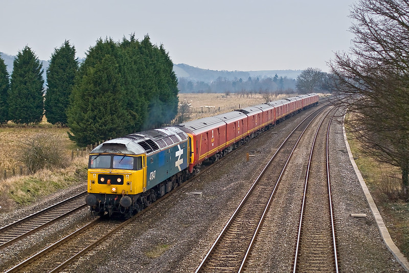 3rd Jan 08: 47847 does the honours again with 1A84 to Wembley. The sets were 325011, 008, 004