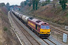 28th Jan 08:  60012 heads back to Lindsey with 6E55 from Theale.  Pictured a Westbury Lane in Purley on Thames