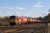 30th Jan 08:  60023 and 6B33 Theale to Robeston Murco empties