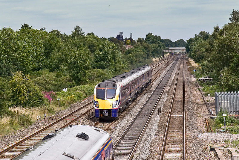 14th  Jul 08:  Almost bowled by 166201 on a Bedwyn to Paddington service is un-branded 180105 working a test train from Old Oak Common