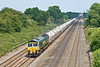 9th Jun 08: Unusually running on a Monday 66510 brings 6V94, cement from Earles to Theale, through Ruscombe