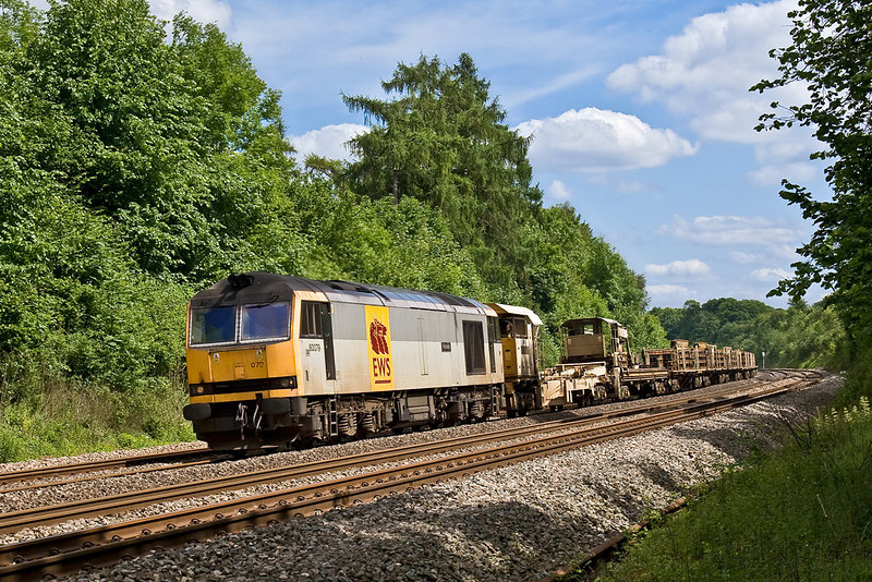 4th Jun 08:  60079 'Foinavon' working the afternoon Eastleigh to Hinksey Departmental.  There were 2 Sea Cows on the rear