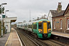 31st Mar 08:  377163 stops at Glynde working from Brighton to Orr