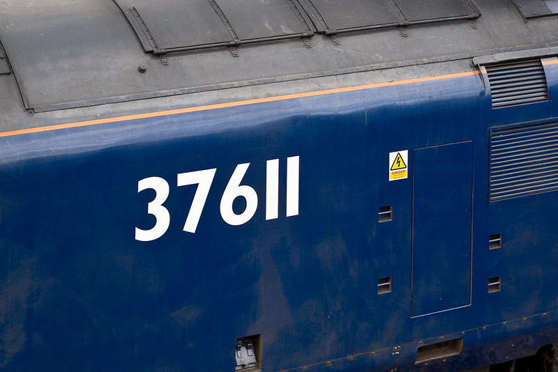 4th Mar 08:  67611 was on the rear