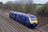 5th Mar 08:  43003 & 43002 are forming 0F70 from Loughborough to Old Oak Common past Shottesbrooke
