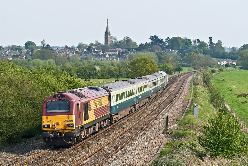 5th May 08: 67028 is on the tail