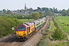 5th May 08:  The northbound Marylebone to Wrexham powered by 67026 and 67025