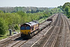 6th May 08:  The Marchwood to Didcot MoD stores working produced 66165 today