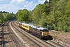 7th May 08:  31106 leads as 1Z11 runs from Eastleigh to Woking. Captured here rounding the curve at Curzon Bridge, Pirbright
