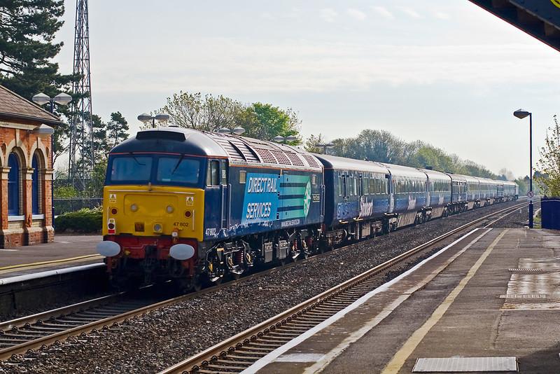 3rd May 08: 47802 brings up the rear