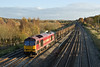 12th Nov 08: It is always good to see a tug, here 60041 works the return Eastleigh to Hinksey Departmental