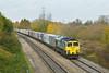 8th Nov 08: 66503 at Kennington working 4O27 from Garston to Southampton