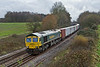 28th Nov 08:  4M61 from Southampton to Trafford Park with 66592 on the point at Silchester
