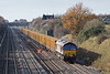 19th Nov 08: 66034 and 6A58 from Calvert to Northolt diverted via the GWML due to the signalling work at Aylesbury
