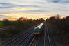 20th Nov 08: Sunset at Shottesbrooke with 165106